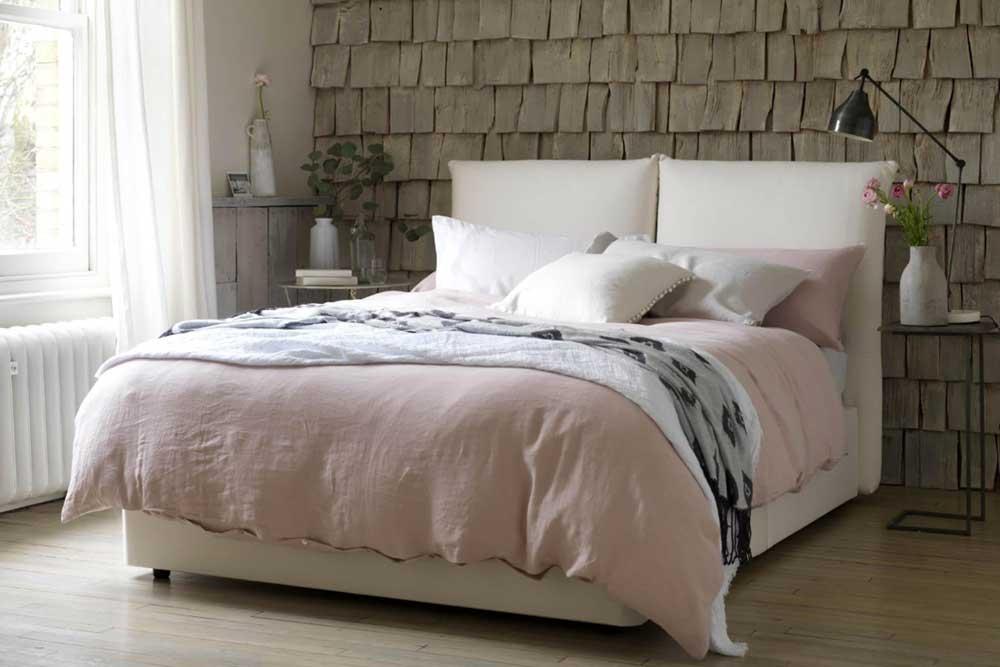مدل تخت خواب دو نفره سفید