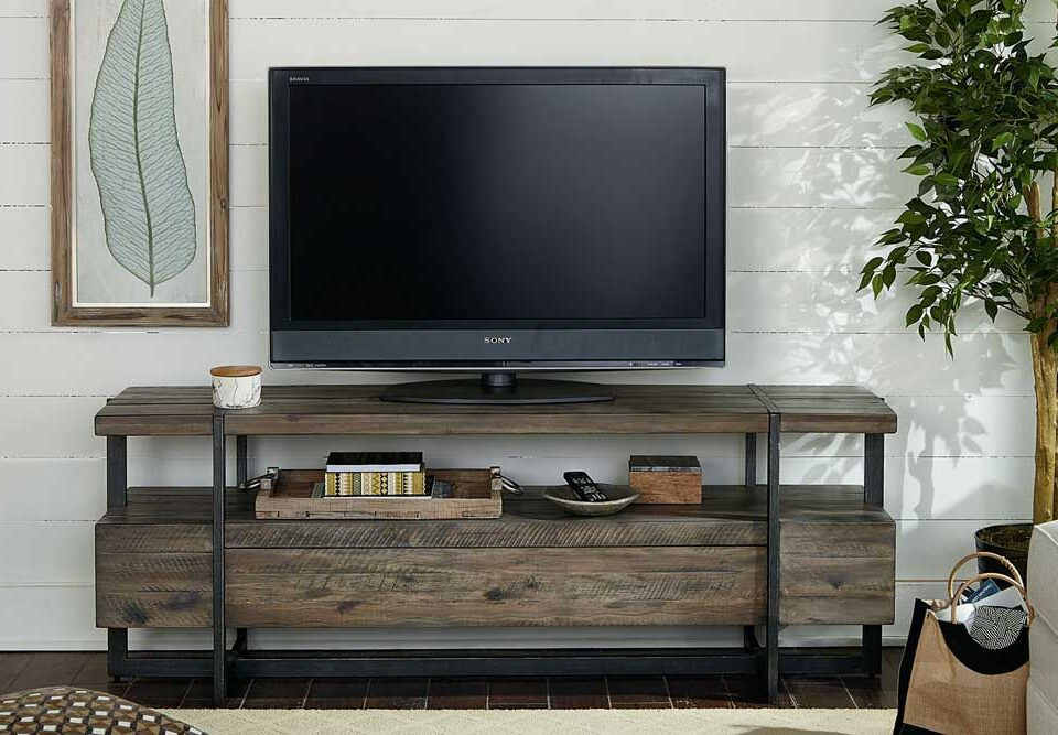 چه معیارهایی در انتخاب میز تلویزیون چوبی خوب دخیل اند؟