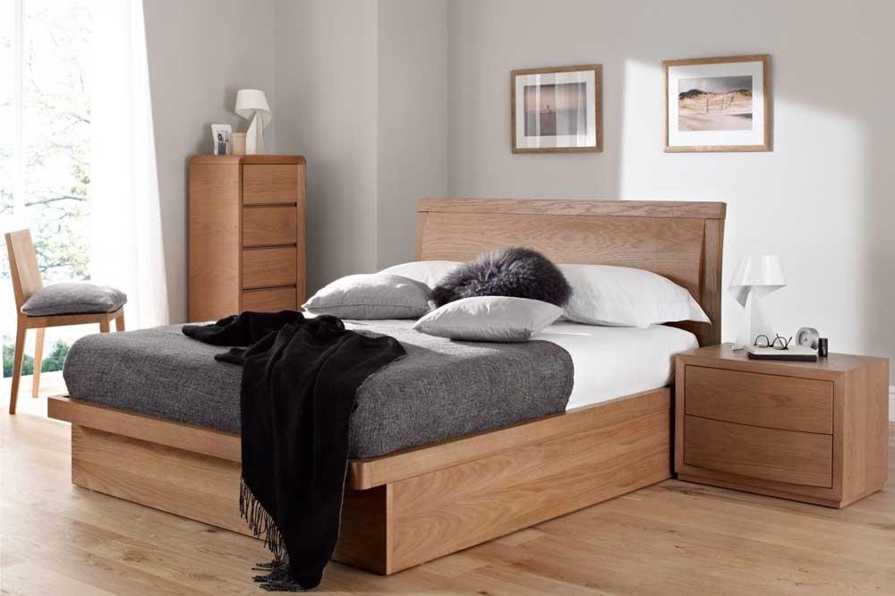 مدل تخت خواب دو نفره چوبی