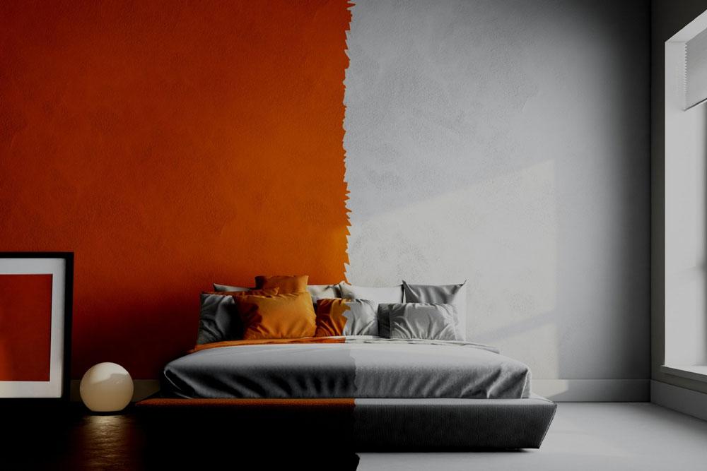 انتخاب رنگ اتاق خواب مناسب