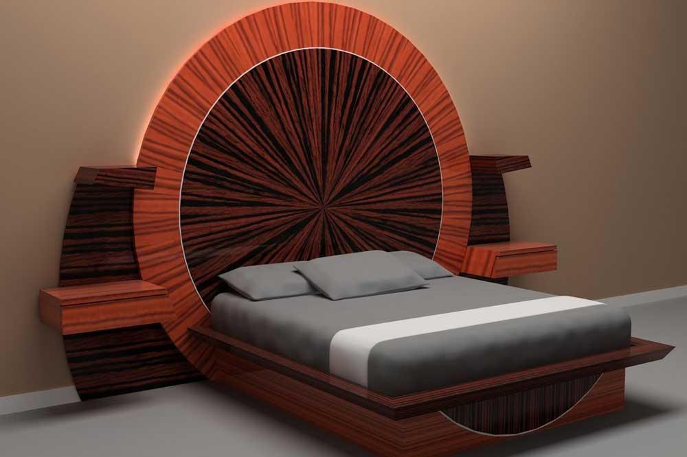 مدل تخت خواب دو نفره جدید کلاسیک