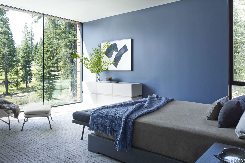رنگ اتاق خواب آبی