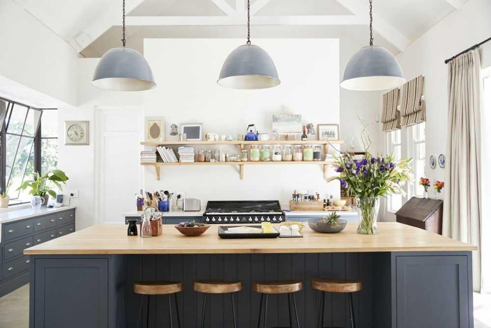 فضای مورد نیاز آشپزخانه جزیره ای چیست ؟