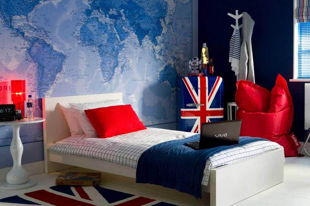 تزئین اتاق پسر