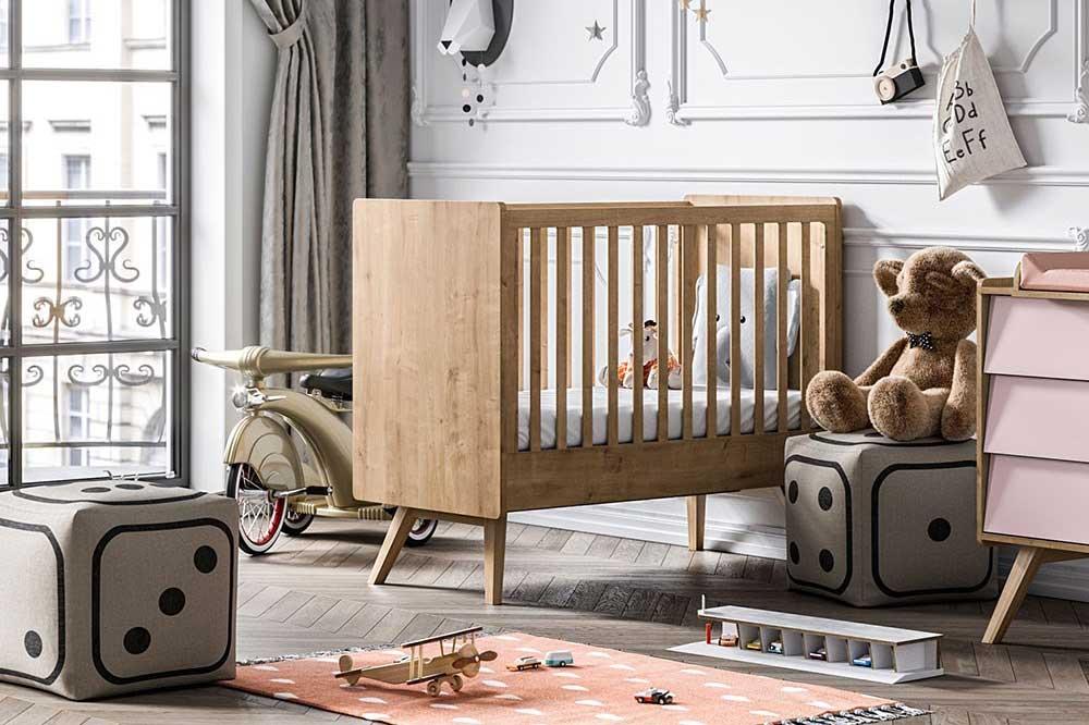 اندازه تخت نوزاد