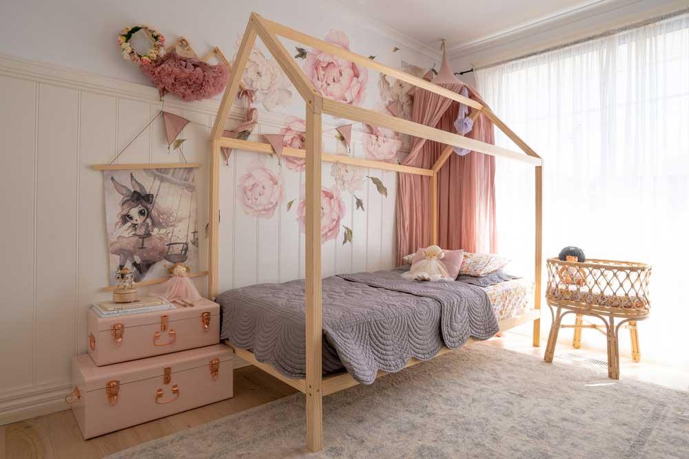 تخت خواب تک نفره دخترانه نوجوان