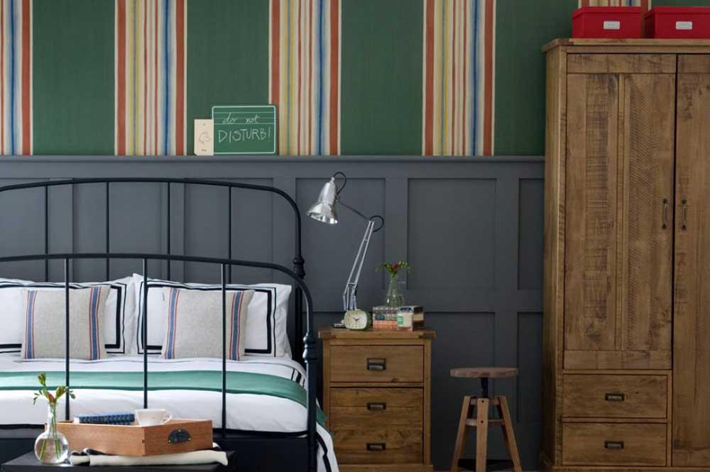 مدل کاغذ دیواری اتاق خواب پسرانه