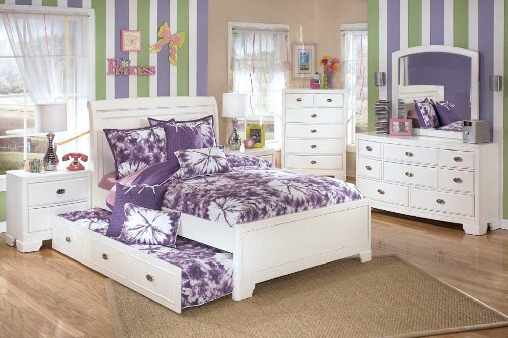 مدل جدید تخت نوجوان سفید