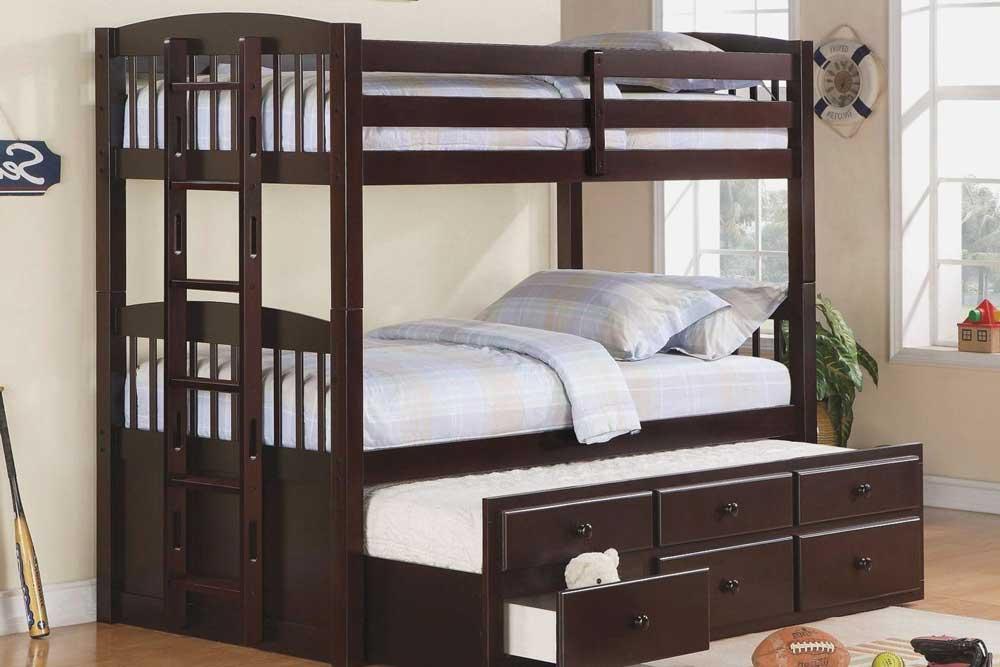 ابعاد تخت دو طبقه استاندارد