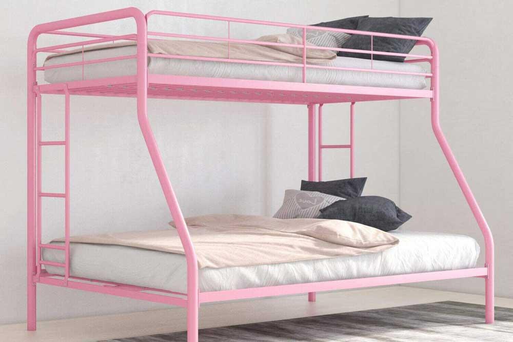 ابعاد تخت دو طبقه کودک