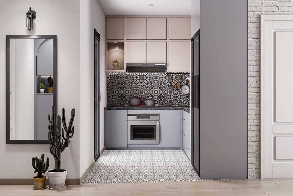 چیدمان آشپزخانه های کوچک : مدل آشپزخانه