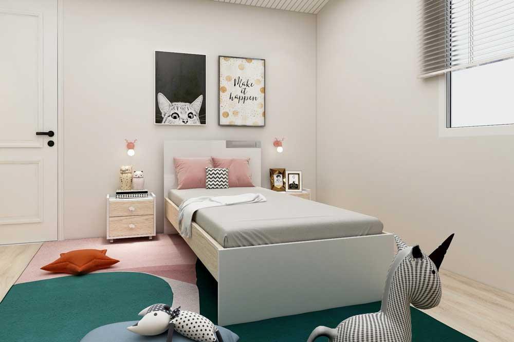 خرید تخت خواب یک نفره مدرن