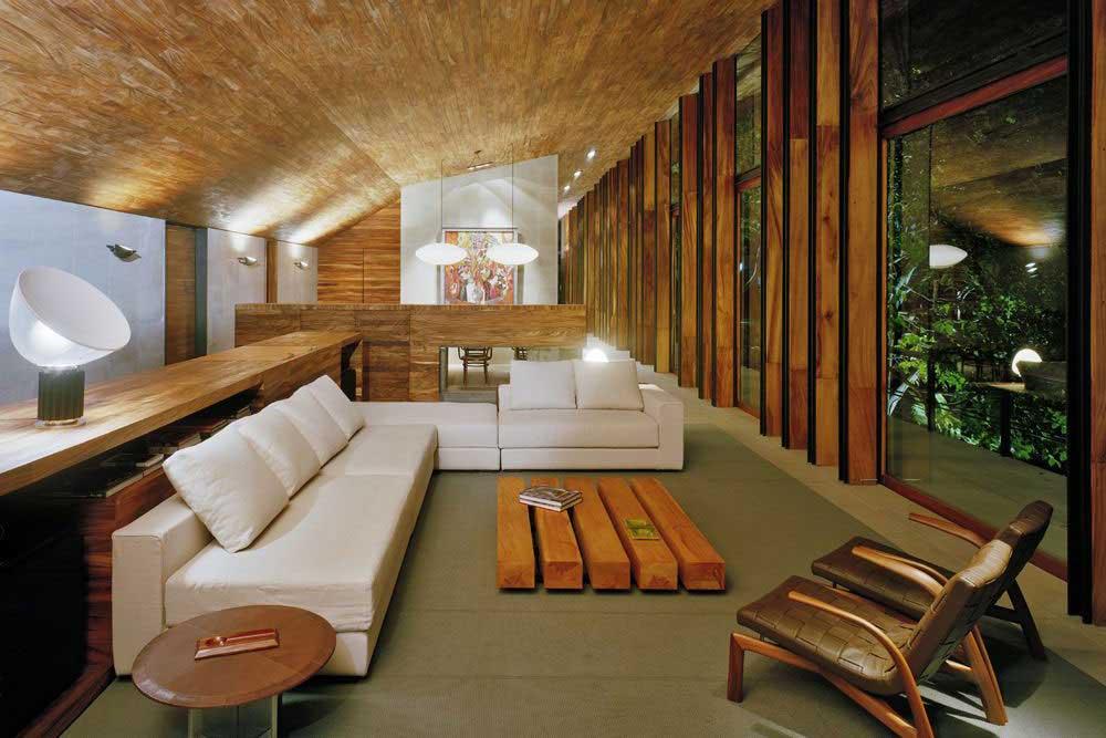 دکوراسیون داخلی با چوب