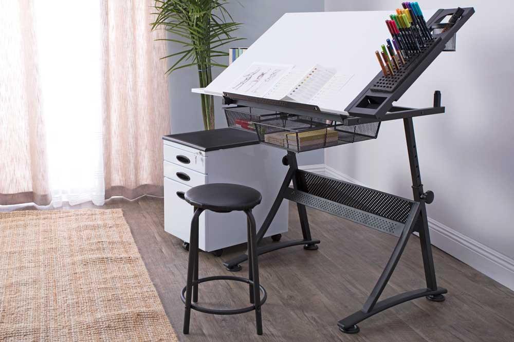 ابعاد میز نقشه کشی و مهندسی