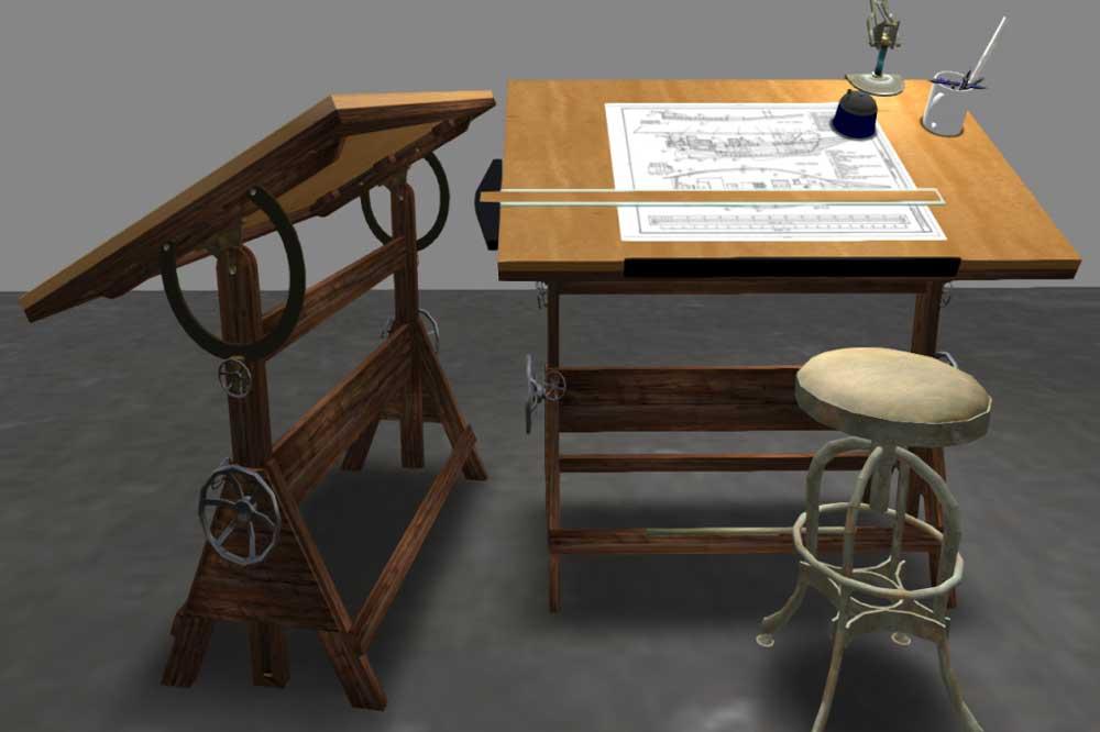 قیمت میز نقشه کشی و مهندسی
