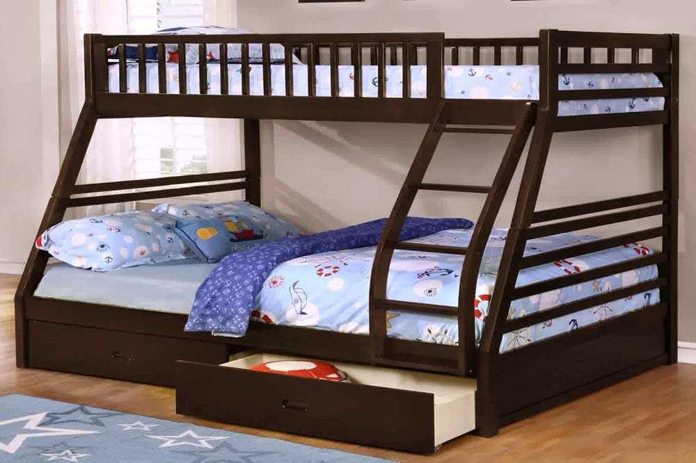 ابعاد تخت دو طبقه