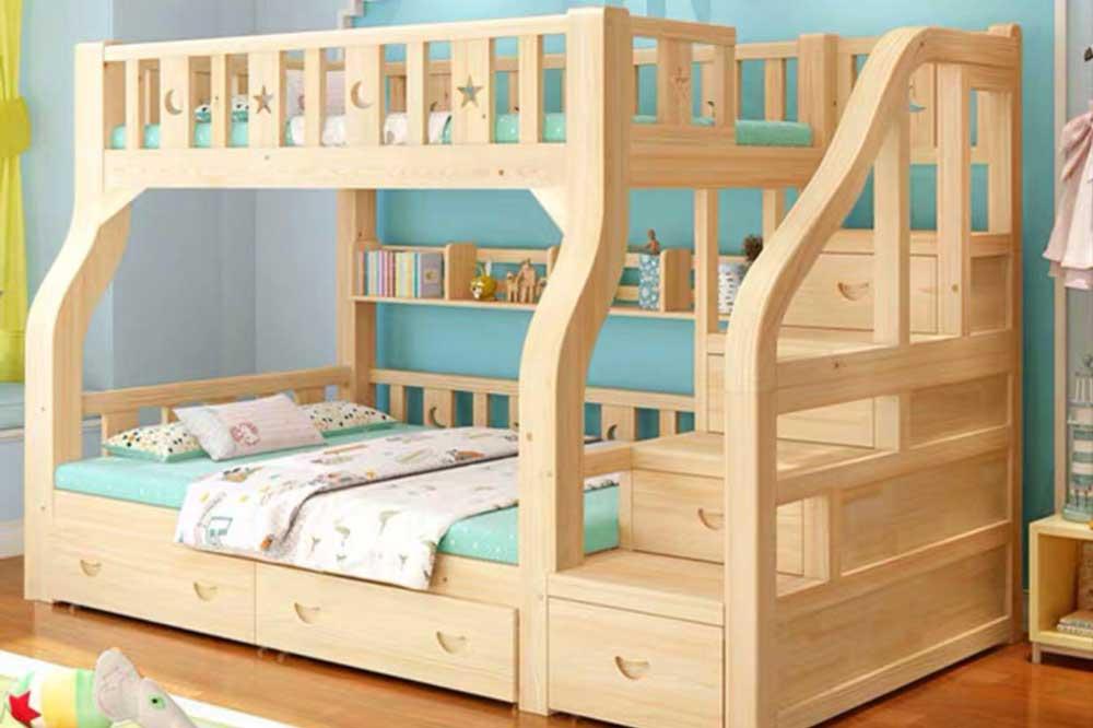 بهترین ابعاد تخت دو طبقه