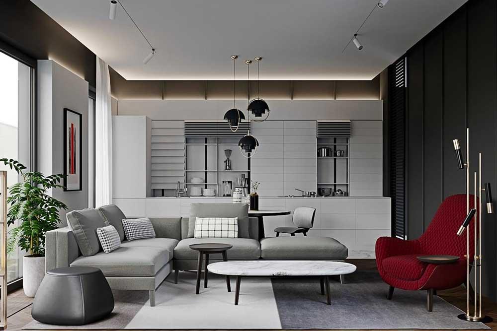 رنگ های طراحی مدرن خانه