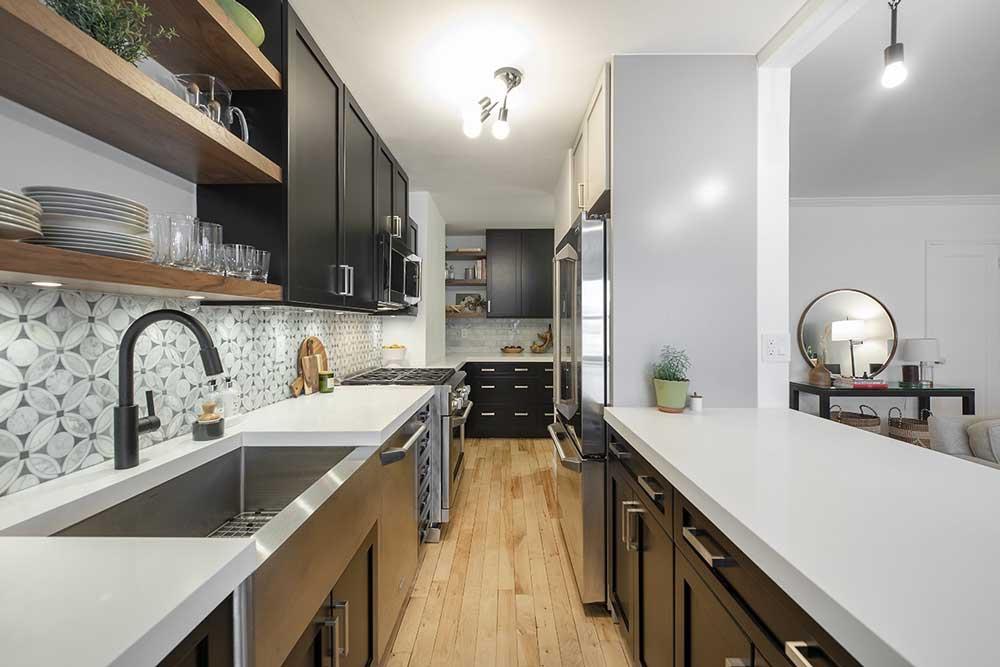 چیدمان آشپزخانه های کوچک : مثلث کار