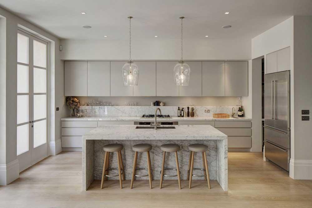 خلاقیت در دکوراسیون آشپزخانه: کانتر آشپزخانه