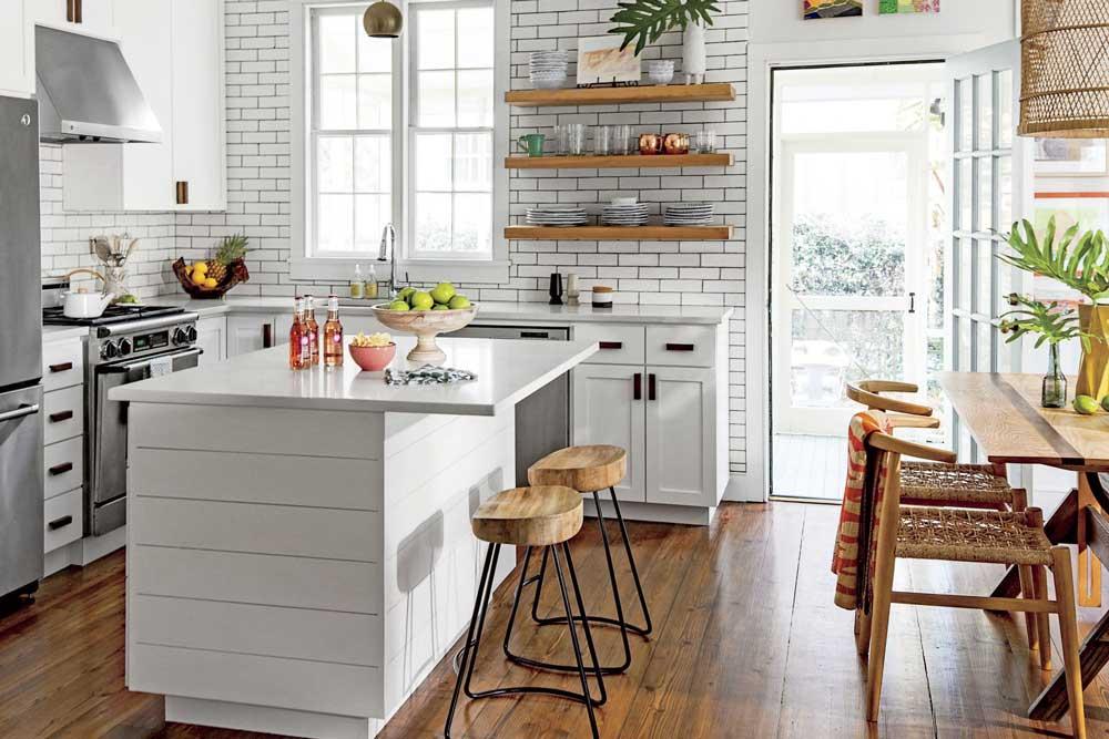 چیدمان آشپزخانه عروس جدید : دیوارها