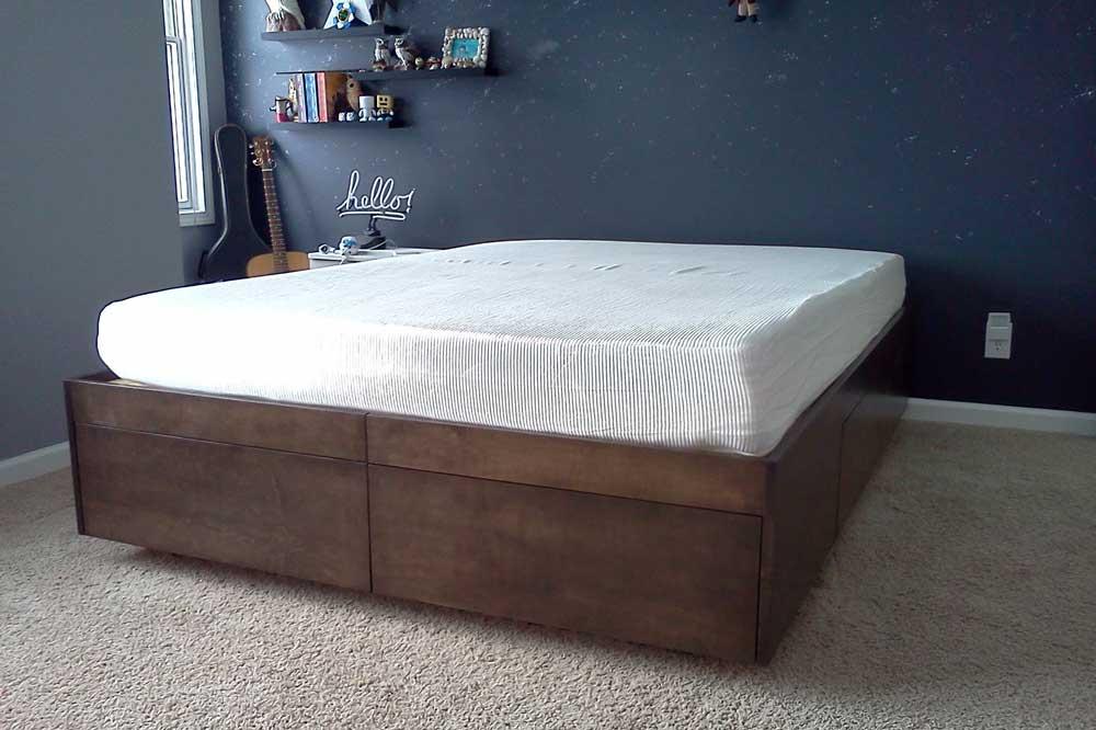 ساخت تخت خواب دونفره