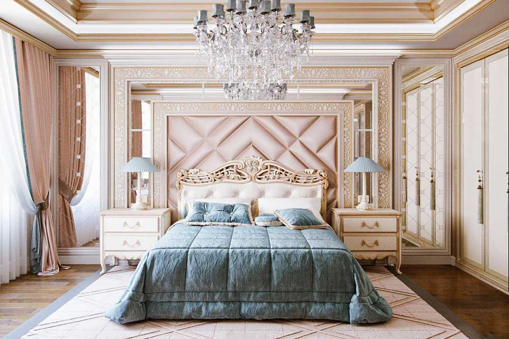 چیدمان داخلی اتاق خواب ایرانی