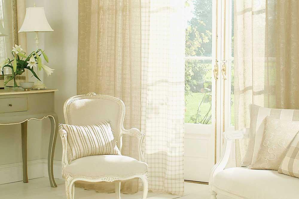 دکوراسیون داخلی آپارتمان کوچک : پرده