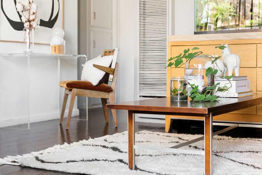 دکوراسیون داخلی آپارتمان کوچک : فرش