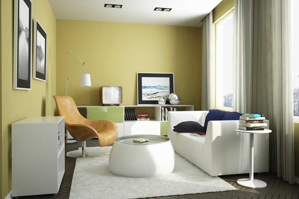 دکوراسیون داخلی آپارتمان کوچک : مبلمان