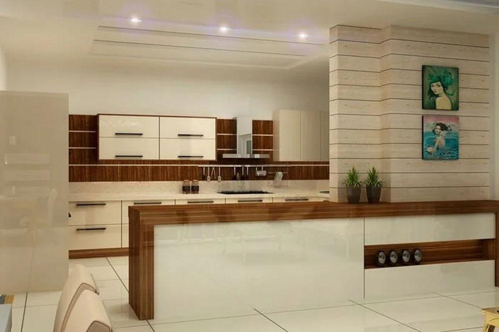 آشپزخانه دکوراسیون مدرن