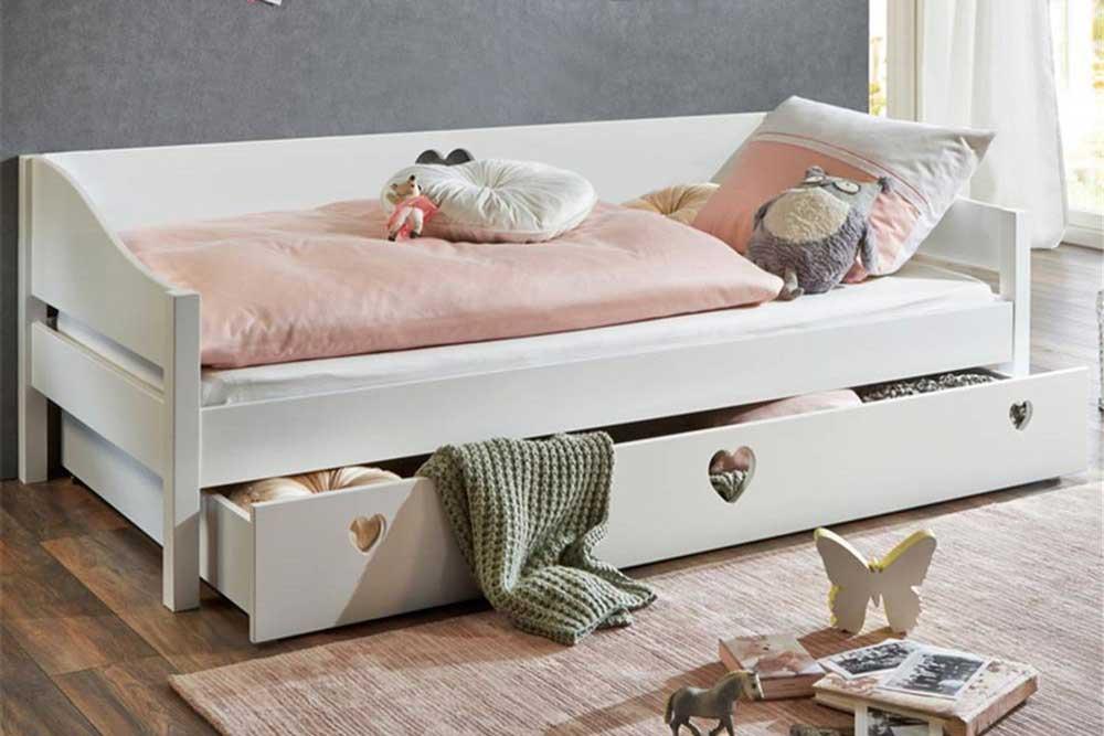 تخت خواب یک نفره mdf جک دار