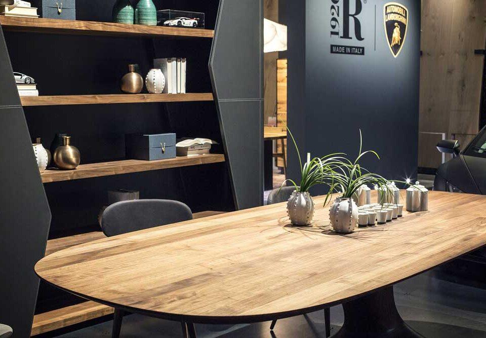 5 ایده جذاب برای طراحی کتابخانه چوبی مدرن