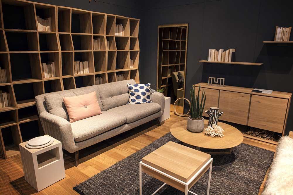 کتابخانه چوبی مدرن : از کف تا سقف