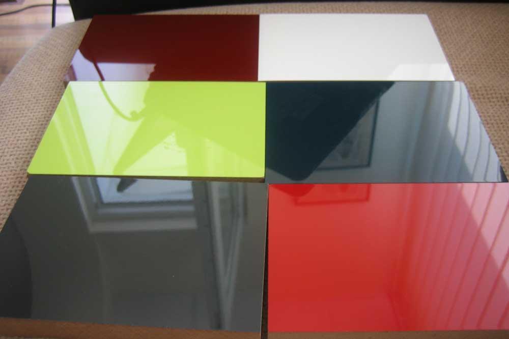 رنگبندی ام دی اف هایگلاس