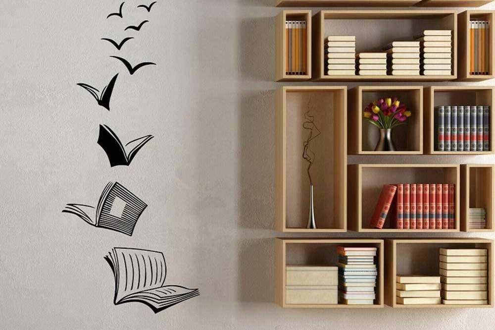 سفارش کتابخانه دیواری MDF
