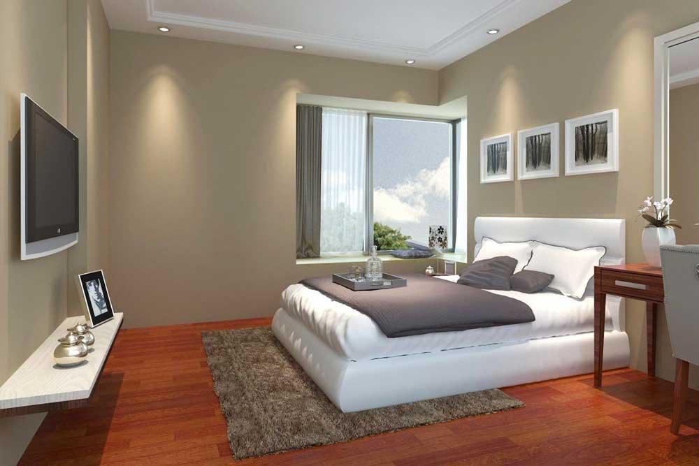 سبک مدرن دکوراسیون اتاق خواب ساده و شیک