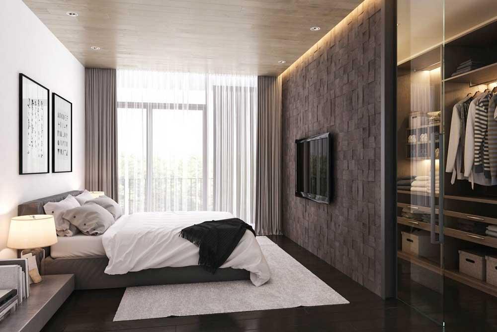 سرویس خواب در دکوراسیون اتاق خواب ساده و شیک