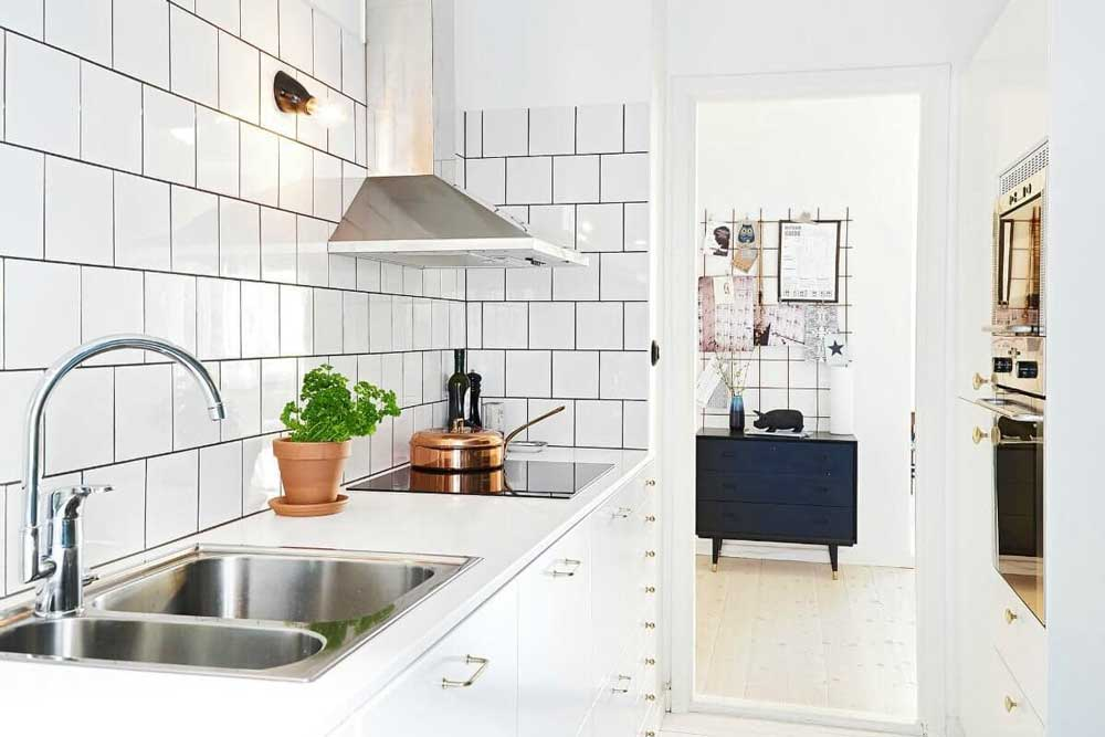 طراحی کابینت آشپزخانه کوچک : نکات مهم و اساسی